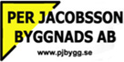 Per Jacobsson Byggnads AB logotype